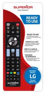 Universeel afstandsbediening voor alle LG Tvs
