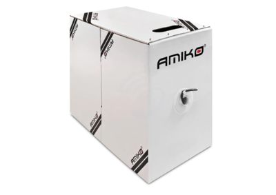 Amiko Cat6 FTP CCA 305 - FTP (1 GBPS - Foil shielded) 305 Meter